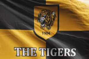 The Tigers: Hull City AFC Flag
