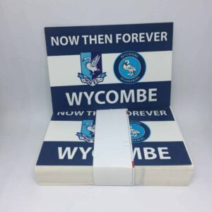 Now Then Forever: Wycombe Wanderers FC Stickers