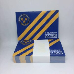 Shrewsbury on Tour: Shrewsbury Town FC Stickers