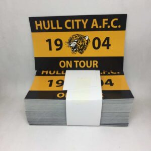 HULL CITY AFC 1904 ON TOUR STICKERS