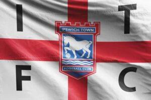 ITFC: Ipswich Town FC Flag