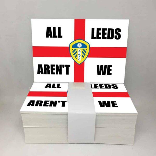 All Leeds Aren't We: Leeds United FC Stickers