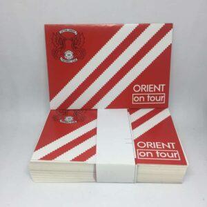 Orient On Tour: Leyton Orient FC Stickers