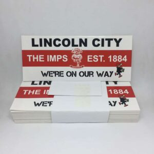 Lincoln City FC Stickers: The Imps Est. 1884