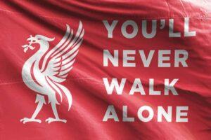 You'll Never Walk Alone: Liverpool FC Flag