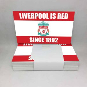 Liverpool Is Red Since 1892: Liverpool FC Stickers