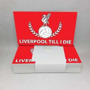 Liverpool Till I Die: Liverpool FC Stickers
