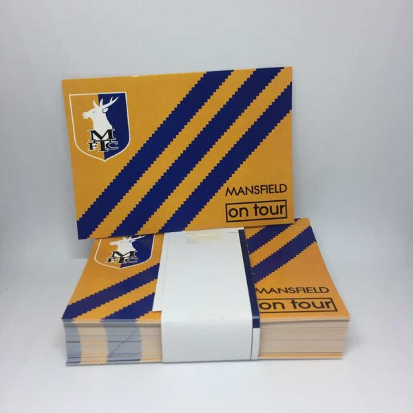 Mansfield On Tour: Mansfield Town FC Stickers