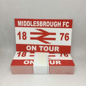 Middlesbrough FC on Tour Stickers