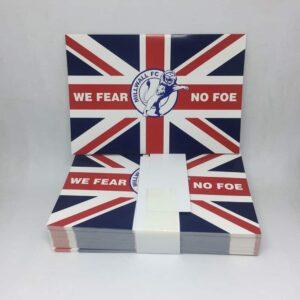 We Fear No Foe: Millwall FC Stickers