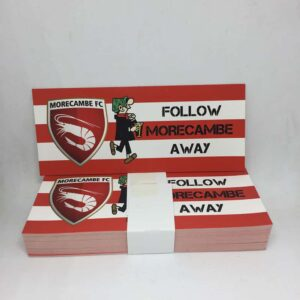 Follow Morecambe Away: Morecambe FC Stickers