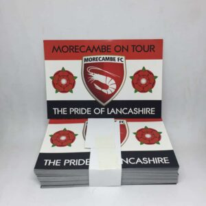 The Pride of Lancashire: Morecambe On Tour Stickers