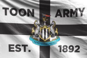 Toon Army EST. 1892: Newcastle United FC Flag
