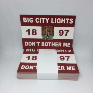 Big City Lights Don't Bother Me: Northampton Town FC Stickers