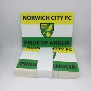 Pride of Anglia: Norwich City FC Stickers