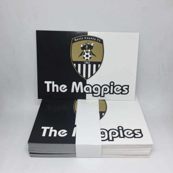 Notts County FC The Magpies Stickers