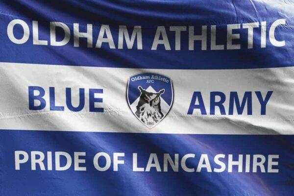 Blue Army: Oldham Athletic AFC Flag