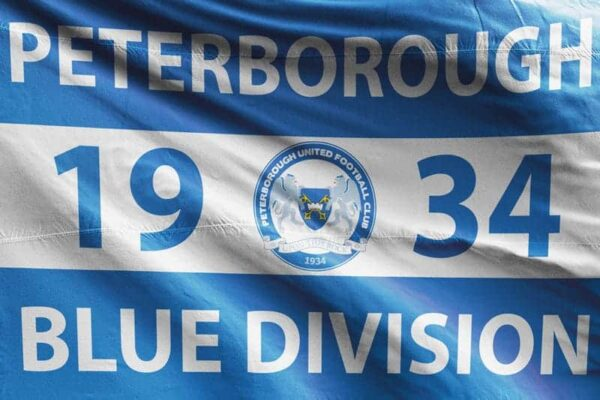 Blue Division 1934: Peterborough United FC Flag