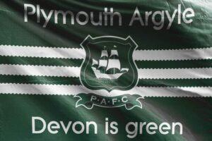 Devon Is Green: Plymouth Argyle FC Flag