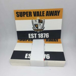 Super Vale Away: Port Vale FC Stickers