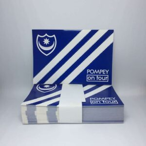 Pompey on Tour: Portsmouth FC Stickers