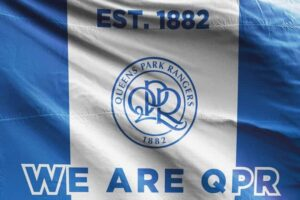 We Are QPR: Queens Park Rangers FC Flag