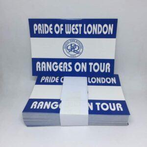 Rangers on Tour: Queens Park Rangers FC Stickers