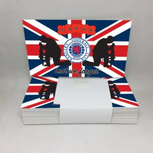 Lest We Forget: Rangers FC Stickers