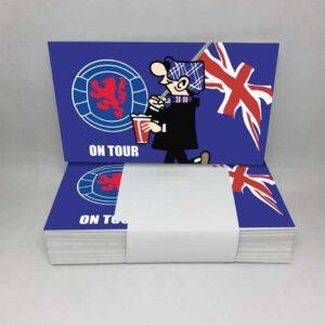 Rangers on Tour: Rangers FC Stickers