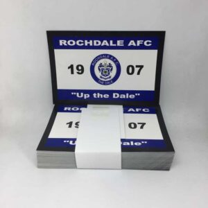 Up the Dale: Rochdale AFC Stickers