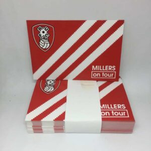 Millers on Tour: Rotherham United FC Stickers
