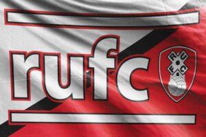RUFC: Rotherham United FC Flag