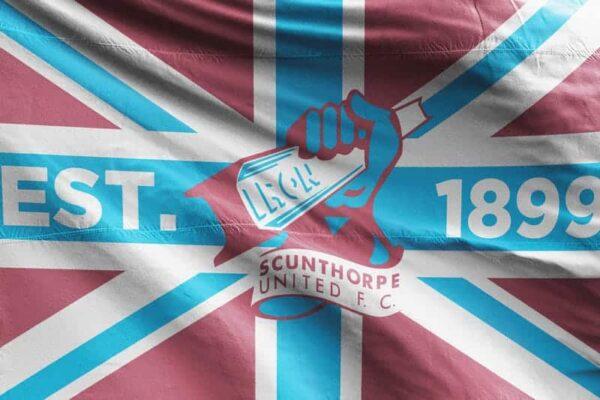 1899 Union Jack Scunthorpe United FC Flag