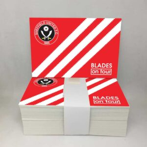 Blades on Tour: Sheffield United FC Stickers