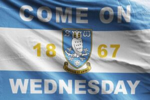 Come on Wednesday: Sheffield Wednesday FC Flag