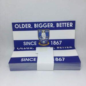 Older, Bigger, Better Since 1867: Sheffield Wednesday FC Stickers