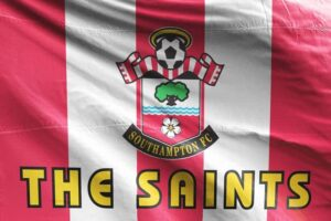 The Saints: Southampton FC Flag