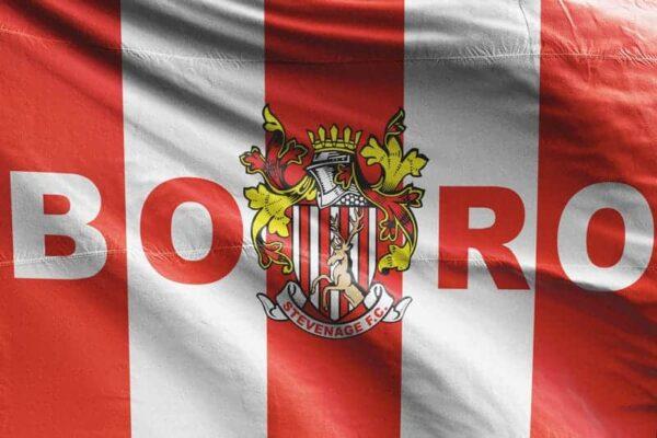 BORO: Stevenage FC Flag