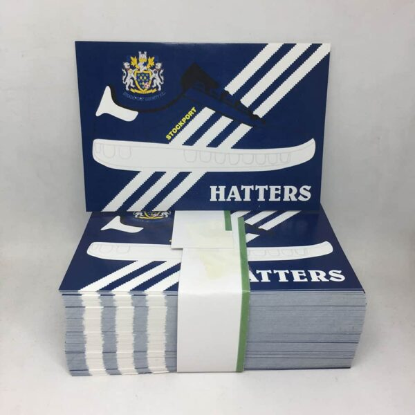 Stockport County FC Hatters Stickers