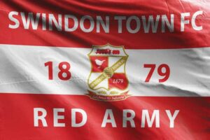 Red Army 1879: Swindon Town FC Flag