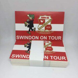 Swindon On Tour: Swindon Town FC Stickers