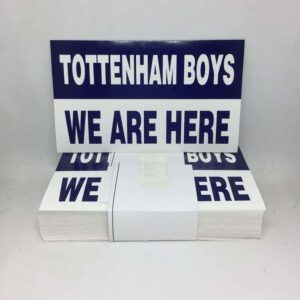 We Are Here: Tottenham Hotspur FC Stickers