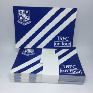 TRFC On Tour: Tranmere Rovers FC Stickers
