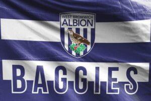Baggies: West Bromwich Albion FC Flag