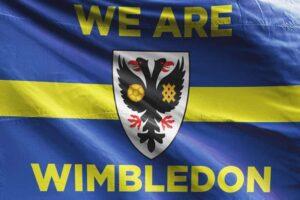 We Are Wimbledon: Wimbledon AFC Flag
