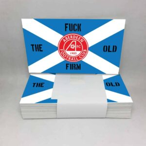 Fuck the Old Firm: Aberdeen FC Stickers