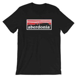 Aberdonia: Aberdeen FC T-Shirt Black