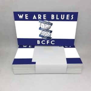 We Are Blues BCFC: Birmingham City Stickers