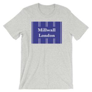 Millwall London Retro 1993 Heather Athletic T-Shirt