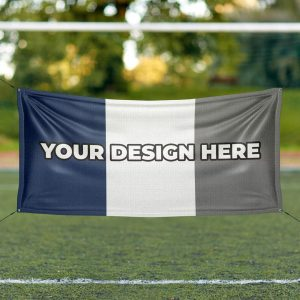 Custom Football Flag: Your Design Here